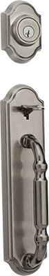 Weiser Acacia entry door hardware