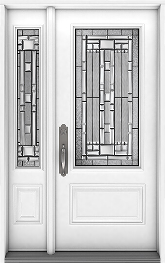 An image of a Nordik Entry door.