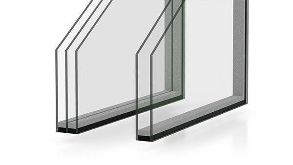 Nordik casement windows have Dual and triple-pane options.