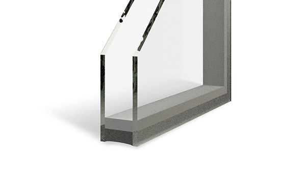 Nordik double slider windows feature dual-pane insulated glass units.