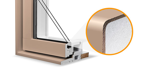 Nordik casement windows feature durable standard colours.