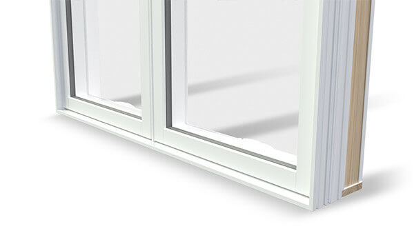 Nordik casement windows feature a High-gloss finish.