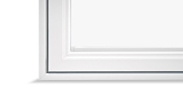 Nordik double slider windows feature a High-gloss finish.
