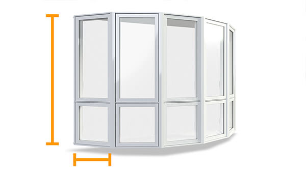 Nordik bay windows feature superior structural construction.