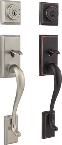 Weiser Hawthorne Entry Door Handle