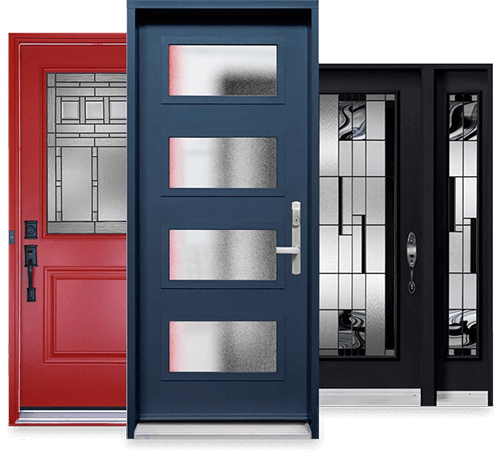 Our replacement exterior doors come in variety of colours and finishes