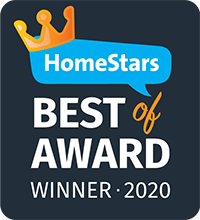 Homestars best of 2020 logo