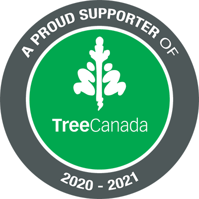 Proud Support of Tree Canada 2020 - 2021
