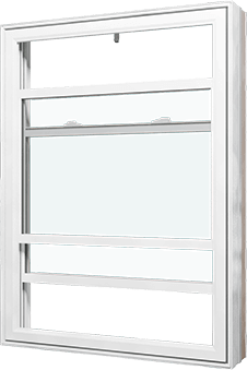 A Nordik double hung Window.